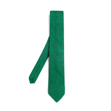 Donegal Tweed Tie - Forest Green