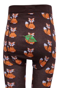 Organic Cotton Tights, Fox