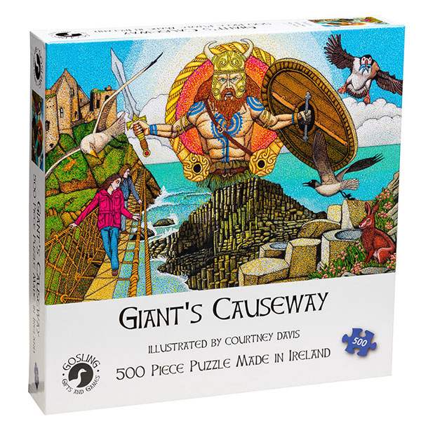 Giant's Causeway Jigsaw Puzzle, 500 pieces