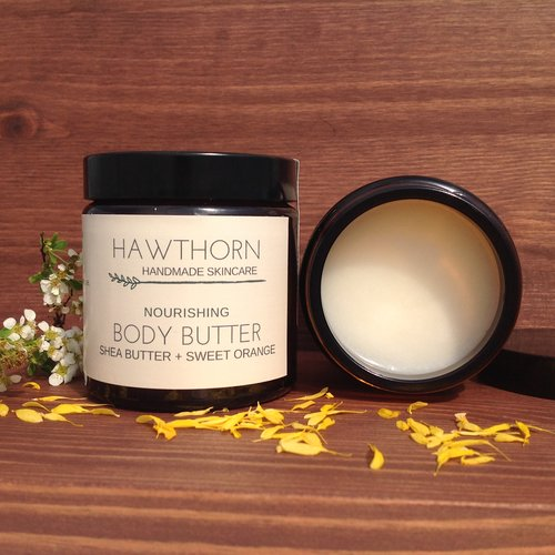 Body Butter with Shea Butter & Sweet Orange