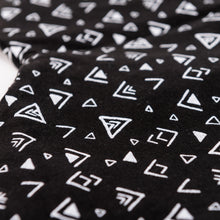 Geometric Cotton Harem Pants