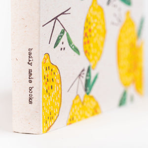 Mini Notebook- lemons