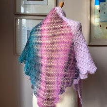 Shawl (Multi & Pink)