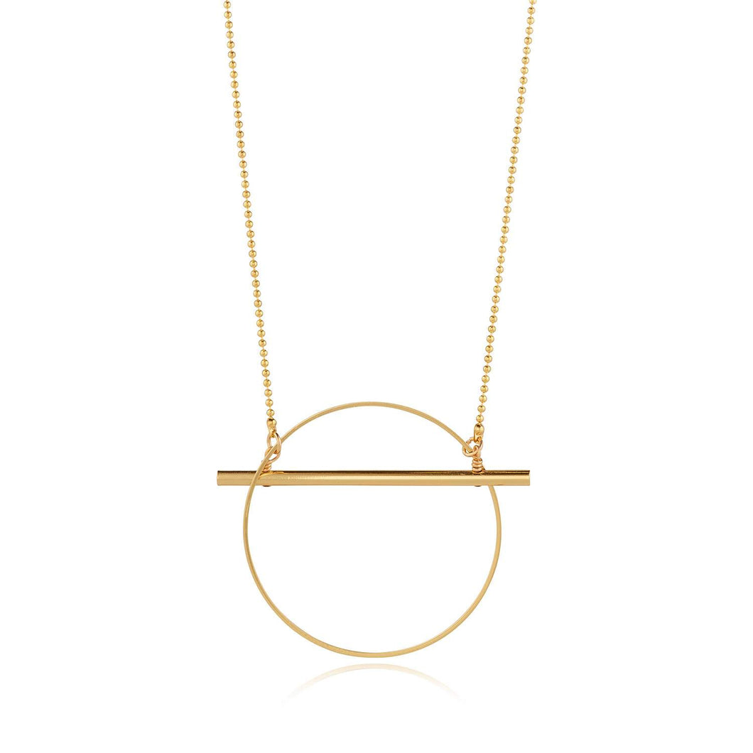 Intersect Gold  Pendant