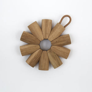 Superfolk Oak Trivet
