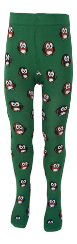 Organic Cotton Tights, Owl