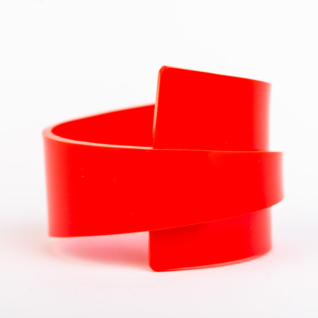 Infinity Cuff - Red