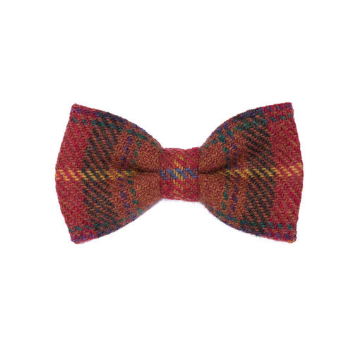 Donegal Tweed Bow Tie - Rural Blaze