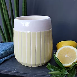 Sunshine Stripe Vase