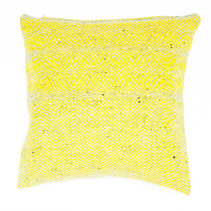 Studio Donegal Cushion Cover Yellow Primrose