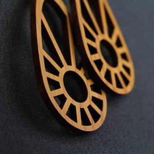 Sundial Earrings (Colour Choice Available))