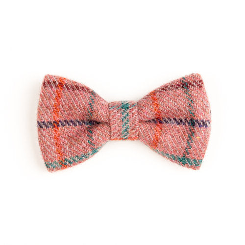 Donegal Tweed Bow Tie - Checkered Clove