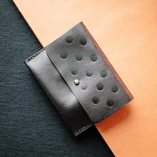 Leather Card & Coin Holder