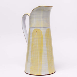 Tall Dairy Jug, yellow