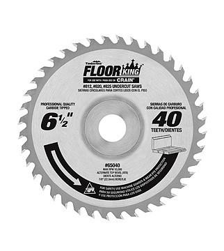 "Floor King 6-1/2"" Carbide Saw Blade - Comparable to Crain 821"