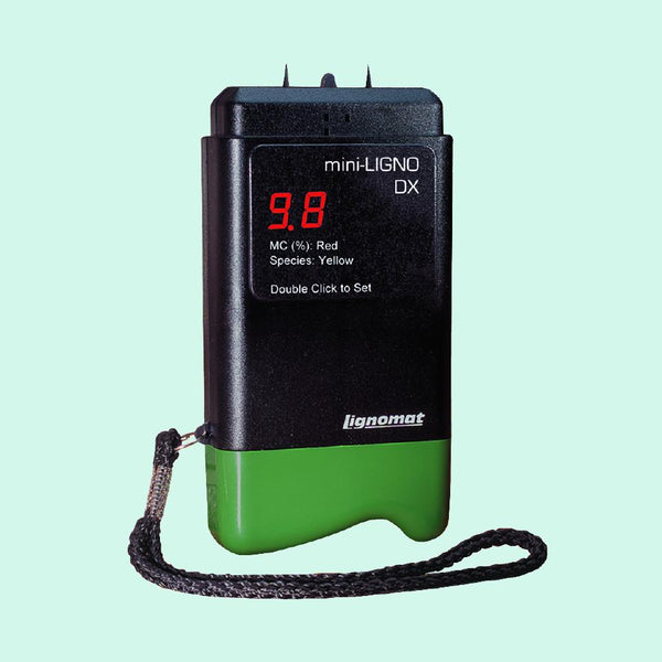 Lignomat - Mini-Ligno DX or DX/C Pin Moisture Meter