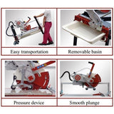 Zipper Bridge Wet Saw  - 4 Sizes Available - By Raimondi