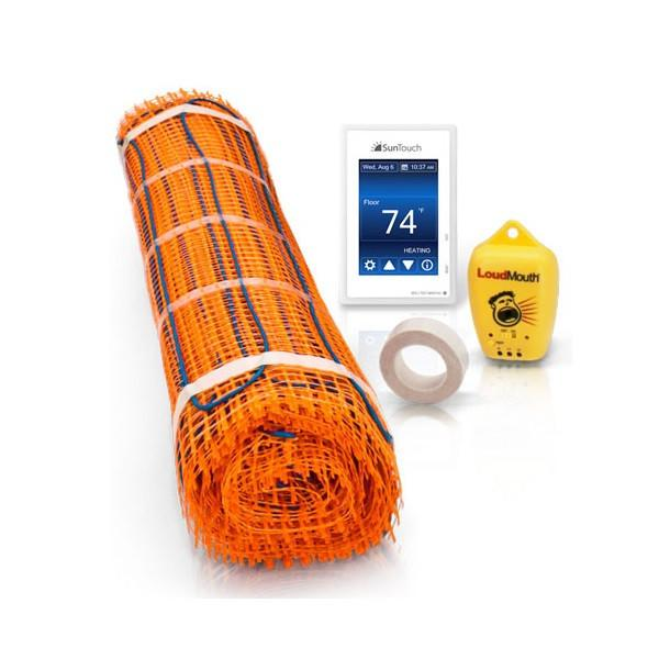 Under Floor Heating - SunTouch 240 VAC TapeMat Kits