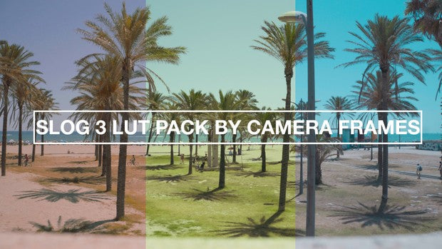 Slog3 SUMMER LUT pack by CameraFrames