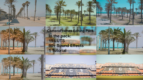 Camera Frames Editing pack