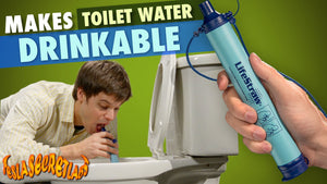 LifeStraw Makes Toilet Water Drinkable - What do You Think About it?