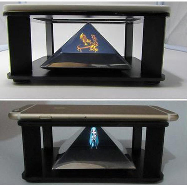 3D Pyramid Hologram Display