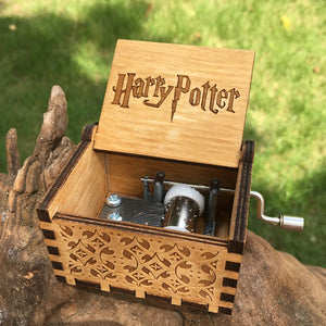Wooden Music Box H. Potter