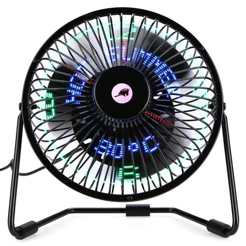 3 in 1 LED Fan Clock - Tesla's Secret Lab