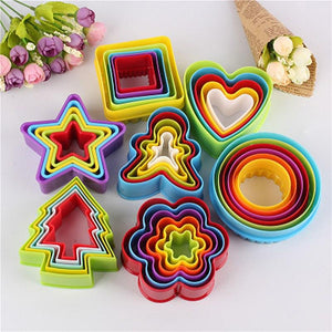 7 Shapes of Christmas Cookie Molds