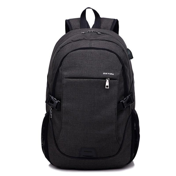 Multifunctional Stylish Backpack with USB rechargeable