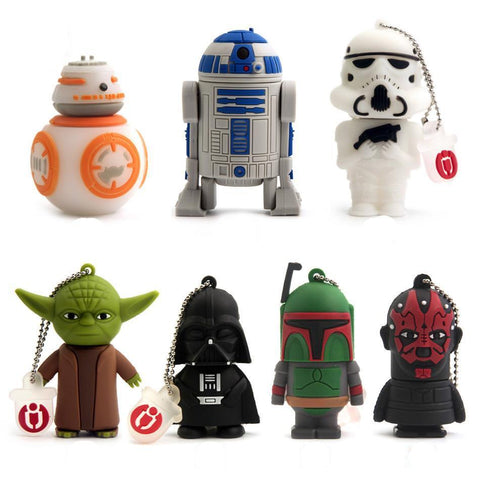 Star Wars themed USB flash drives - Tesla's Secret Lab