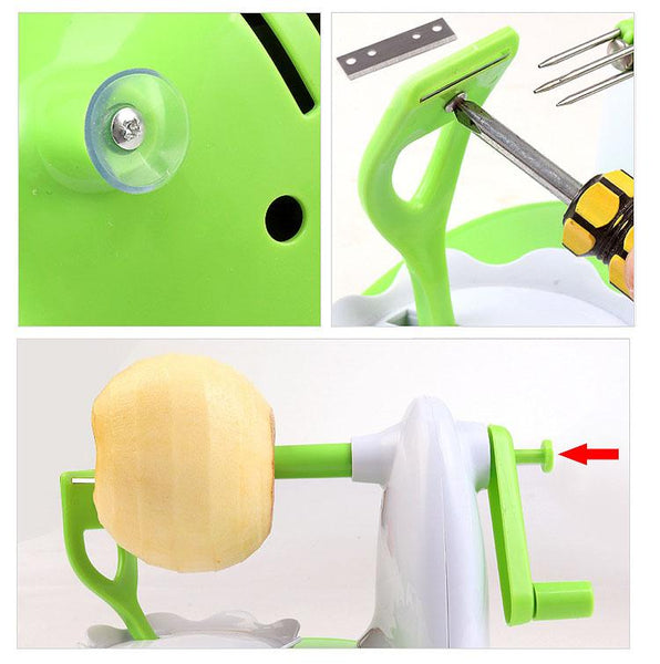 Easy Fruit Peeler - Tesla's Secret Lab