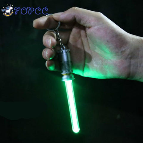 Star Wars Light Saber Keychain - Tesla's Secret Lab