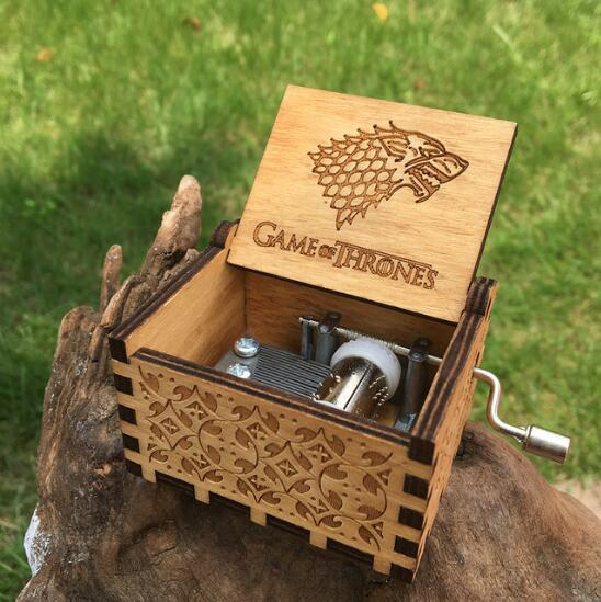 Wooden Music Box Game Of Thrones A
