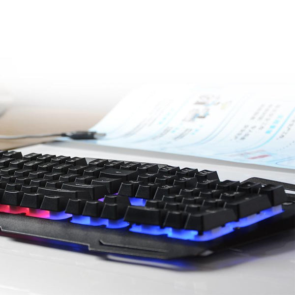 Backlit Gaming Keyboard - Tesla's Secret Lab