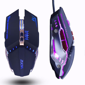 Professional Gaming LED Mouse with 3200DPI
