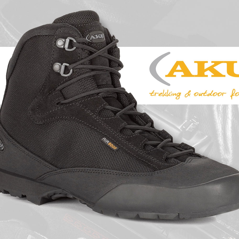 AKU NS564 Spider II Navy Seal Boots Black | UKMC Pro