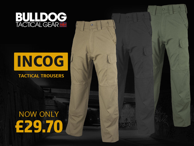 Bulldog Incog Tactical Trousers | UKMC Pro