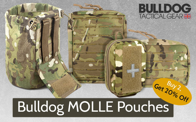 Bulldog MOLLE Pouches Special Offer | UKMC Pro
