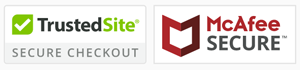 McAfee Secure with TrustedSite