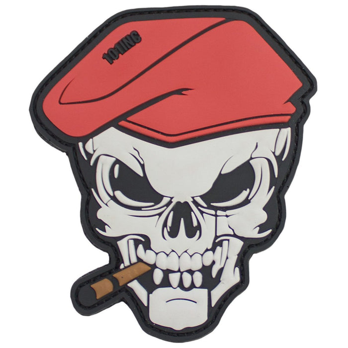 3D PVC 101 Inc Cigar Skull Morale Patch | UKMCPro