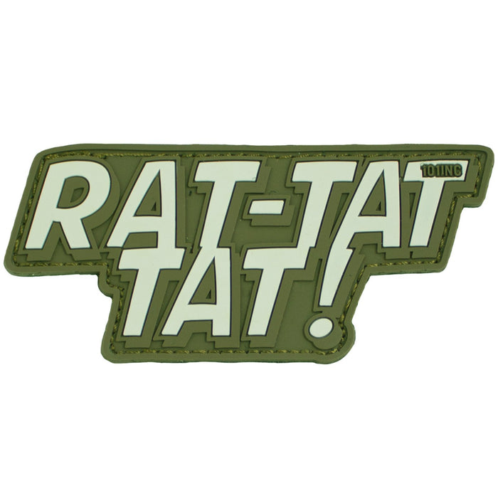 3D PVC 101 Inc Rat Tat Tat Patch | UKMCPro