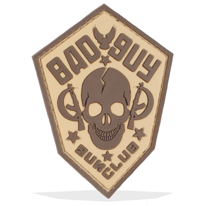 3D PVC Bad Guy Gun Club Patch | UKMCPro
