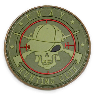 3D PVC Chav Hunting Club Patch | UKMCPro