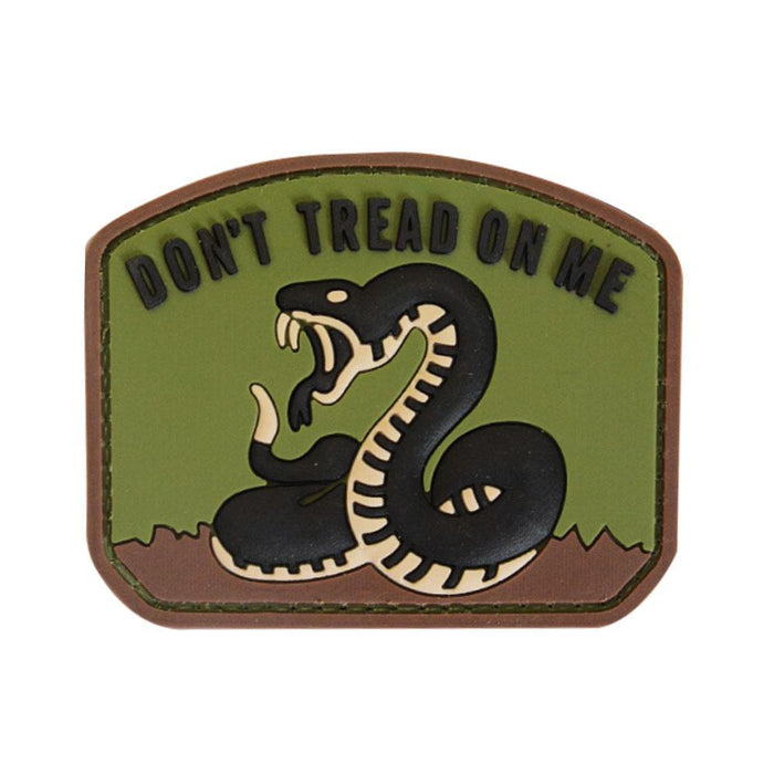 3D PVC Don't Tread On Me Patch | UKMCPro