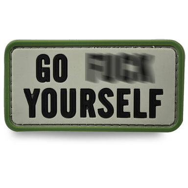 3D PVC Go F**k Yourself Patch | UKMCPro
