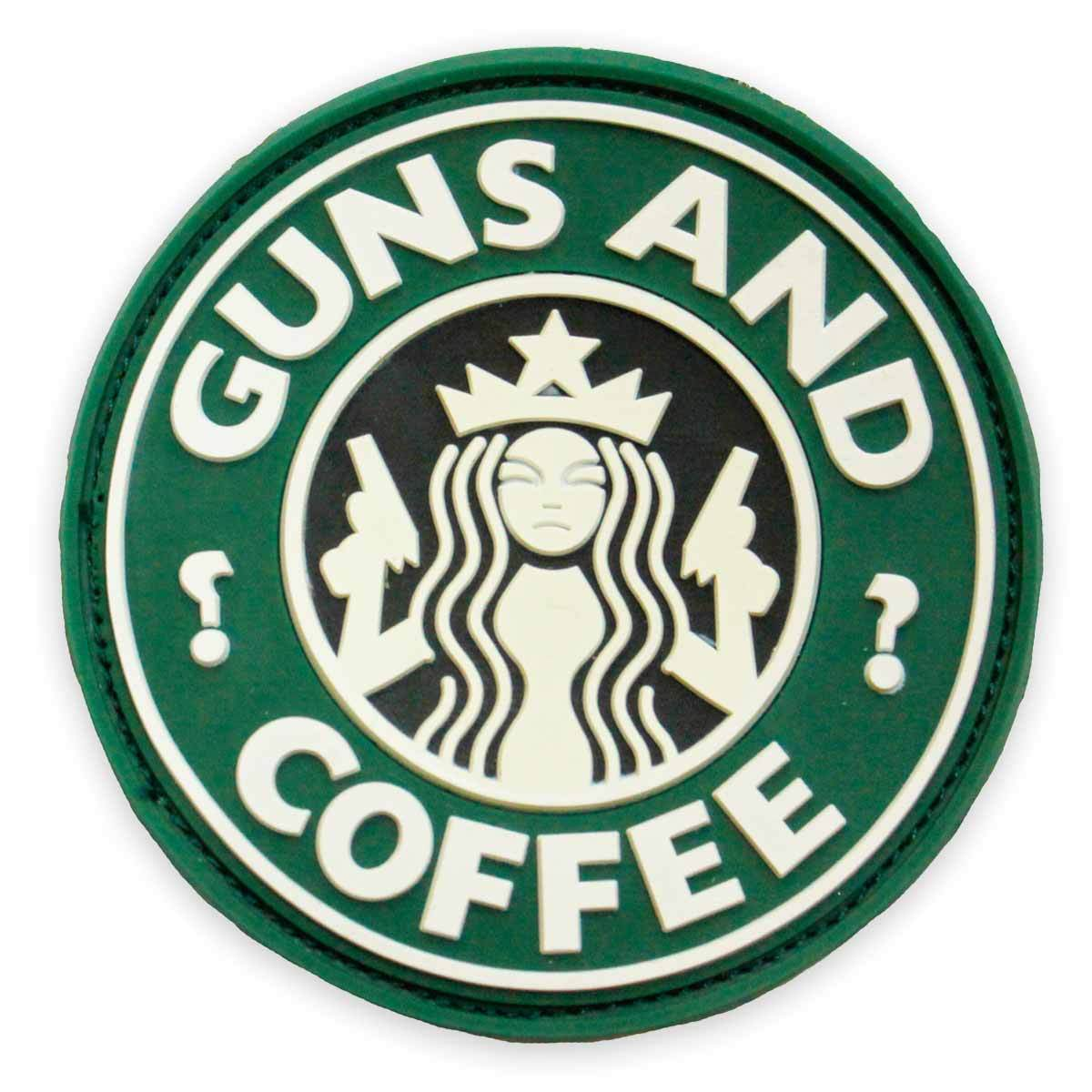 3D PVC Guns and Coffee Patch | UKMCPro