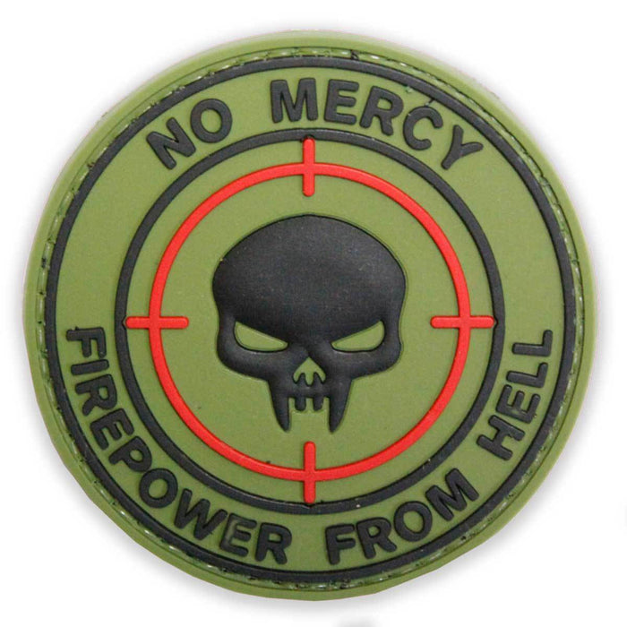 3D PVC No Mercy Firepower From Hell Patch | UKMCPro
