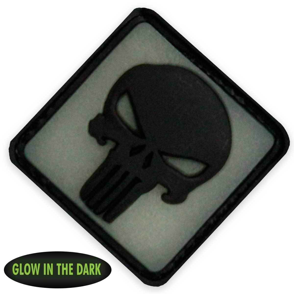 3D PVC Punisher Patch | UKMCPro