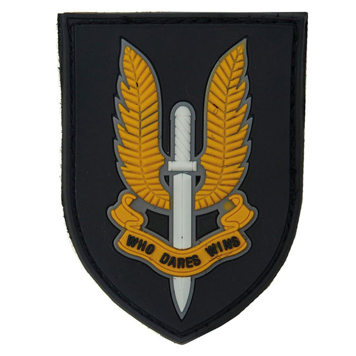 3D PVC SAS Who Dares Wins Patch | UKMCPro
